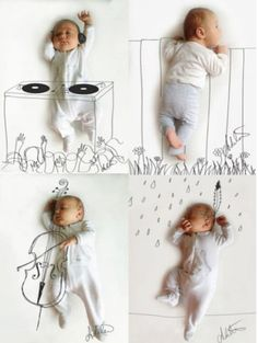 Super sweet baby photos
