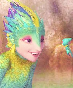 The Tooth Fairy in Rise of the Guardians
