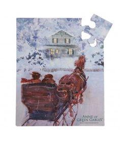 Winter in Avonlea, 20 piece puzzle!