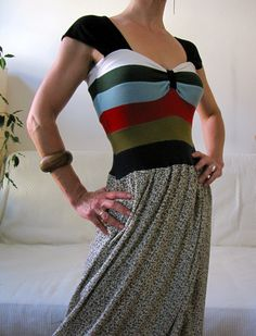 Of Dreams and Seams: T-Shirt Refashion-Extravaganza! Grand Tshirts to Dress - Full Tutorial/How-To!