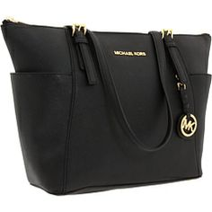 MICHAEL Michael Kors Jet Set Saffiano Top Zip Tote - best selling style on zappos - 1/20/14
