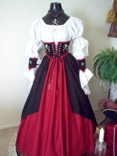 Hey, I found this really awesome Etsy listing at http://www.etsy.com/listing/156082963/pirate-cincher-costume-plus-sizes