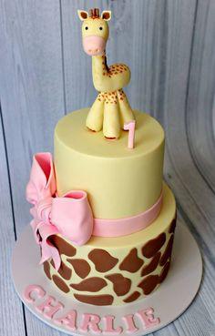 Giraffe Cake jirafa bebe baby shower