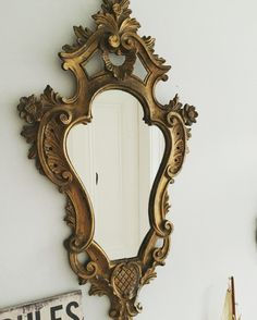 French Style Rococo Style mirror.