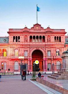 Casa Rosada, Buenos Aires, Argentina.