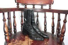 SALE Antique Victorian Boots // Victorian by TrueValueVintage