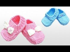 Knitting Simple Cardigan with Needle Crochet Sandals, Crochet Baby Shoes, Knitting For Kids, Baby Knitting, Baby Bootees, Baby Shoes Pattern, Knitted Baby Clothes, Bebe Baby, Knit Boots