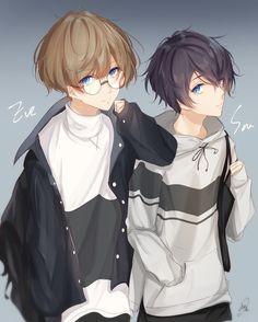 https://twitter.com/nico_michelle32/status/979000162969305088 Hot Anime Boy, Anime Boys, Manga Boy, Boy Art, Animes Manga, Manga Anime, Que Es Otaku, Anime Characters, Cute Chibi