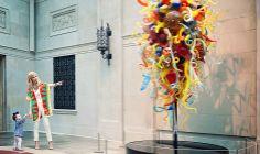 Mara Hoffman & Murano Glass. Spring into Art. #ShopBURU #Lookbook