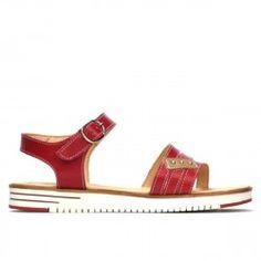 Sandale dama 5067 ginger Footwear, Sandals, Leather, Shoes, Fashion, Moda, Shoes Sandals, Zapatos, Shoe