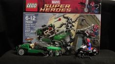 LEGO Marvel Super Heroes Spider-Man Spider-Cycle Chase 76004 Review