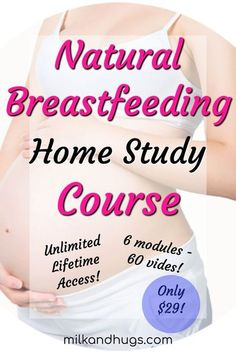 Breastfeeding doesn't have to be hard! There is an easier way, and the Natural Breastfeeding Home Study Course can show you how. 6 modules, 60 comprehensive videos, multiple downloads and insight from experts AND real mothers. Taught by the premier educat Natural Parenting, Peaceful Parenting, Good Parenting, Parenting Hacks, Back To School Organization, Home Study, Breastfeeding Support, Nursing Tips, Quotes About Motherhood