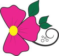 flor  Rosa  amarelo folha verde para adesivos de unha artesanal