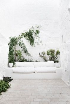 Courtyard sitting