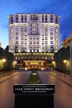 Park Hyatt Melbourne, Australia is the FHRNews #AmexFHR #luxury #hoteloftheday for Saturday, December 31.