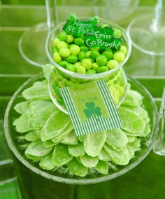 St Patricks Day Party by Candy Bar Couture with A Blissful Nest party printables