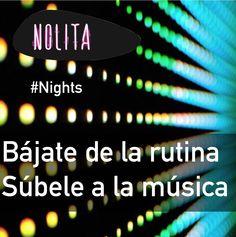Nolita Nights seduce tu mente con nuestros cocteles. Nuestro bar es otra cosa. Nolita #VienesyVuelves