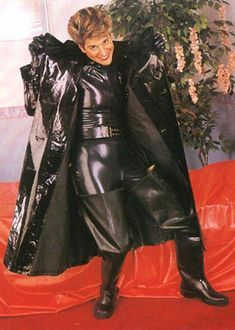 Raincoats For Women April Showers Black Rain Jacket, Rain Jacket Women, Vinyl Raincoat, Yellow Raincoat, Hooded Raincoat, Pvc Raincoat, Raincoats For Women, Jackets For Women, Leather