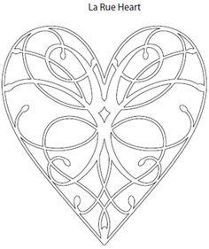 Memory Box Cutting Die - LA Rue Heart