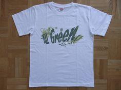 緑一色 Tシャツ