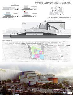 Galería - Finalistas del Concurso Nacional de Arquitectura Papalote Museo del Niño Iztapalapa / México - 9