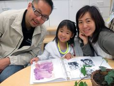 Beaming with joy, as we shared our Portfolios with our Prek families…Treasured learning experiences and journeys.
