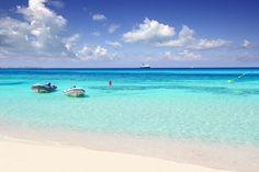 LAS ILLETES BEACH, FORMENTERA, SPAIN...