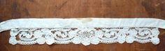 アンティークレース ボビンレース38cmパーツ フランス 335 Antique lace ¥1500yen 〆04月01日