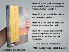 Press #5 if you would like to hear these options again...LOL  From Chapter 19 in 1-800-Laughing-Out-Loud  http://amzn.to/1IGWKAq  #books #booklovers #iamreading #1800laughingoutloud