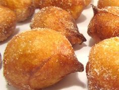 - Recipe of fritters of wind, typical of the festivity of All Saints Mexican Sweet Breads, Mexican Food Recipes, Sweet Recipes, Dessert Recipes, Beignets, Spanish Desserts, Spanish Dishes, Profiteroles, Puerto Rico Food