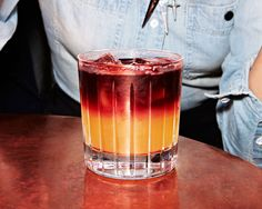 New York Sour. This wine-spiked whiskey sour is our pick for comeback cocktail of the year.