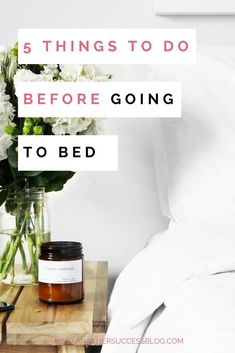 Your day starts the night before. Make sure you go to bed prepared for a successful day. #productivity #success #habits #goals