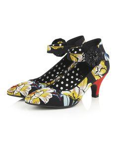 9d9003d5 Ruby Shoo Carla Shoes Black Floral #rubyshoo #shoes #vintagestyle