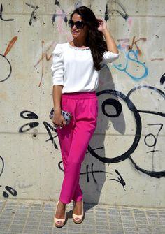 Fucsia Pants | Susan´s Style