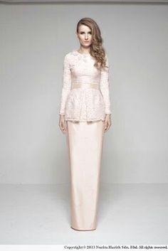 Dress by nurita harith. Always love her design.