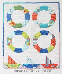 Carefree Curves Sailing Quilt | Nancy Zieman | Sewing With Nancy