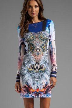 Robes Impression pas cher - Acheter Robes Impression soldes à prix de gros, Nouveau collection Robes Impression promotion boutique à petit prix en ligne  | Modebuy.com