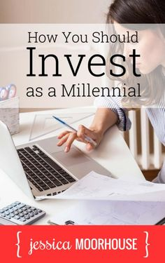 Great investing tips! How you should invest as a millennial.