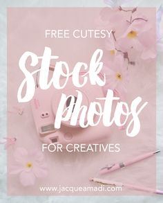 Free cute stock photos are hard to come by, especially stylized flat lays! I mean, I never mind paying for a great photo but I always need new images and it does add up quickly. That's why I …