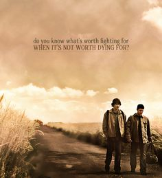 I think this quote just defies  everything about SPN