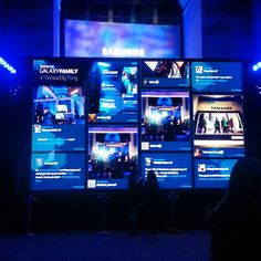 A giant wall of tweets at the @Samsung Mobile US Experience Shop launch #NewYork #TheNextBigThing