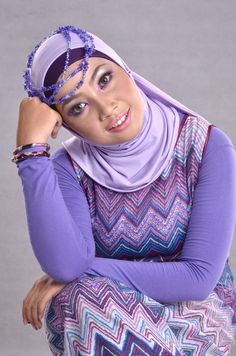 Purplelicious In Hijab