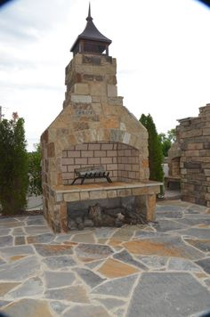 "Stone Age 48"" Standard Series Fireplace"