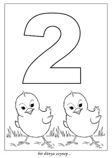 sayı boyama (number coloring pages) Preschool Number Worksheets, Flashcards For Kids, Numbers Preschool, Preschool Learning Activities, Learning Numbers, Preschool Curriculum, Free Preschool, Teaching Kids, Kids Learning