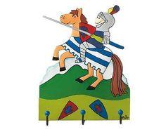 Mila Garderobe Ritter Kunibert mit Pferd klein