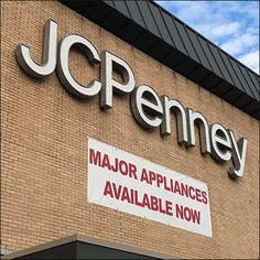 JCPenney Building Billboards Major Appliances – Fixtures Close Up Billboard, Signage, Appliances, Building, Gadgets, Accessories, Buildings, Home Appliances, Signs