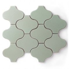 HIGH Fireclay handmade and glazed tile single tiles, not on a sheet - Paseo