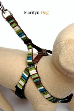 Martingale dog harness your choice of fabric dog by MaritynDog, $36.00 ...Difficult for dog to slip out of ...