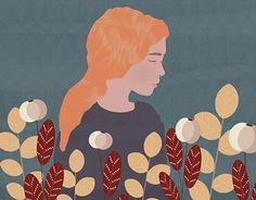 "Check out new work on my @Behance portfolio: ""Girl. Illustration. Flowers"" http://be.net/gallery/57781239/Girl-Illustration-Flowers"