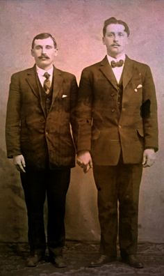 Pietro Zambotti and Leon Genetti, Hazleton, PA 1908